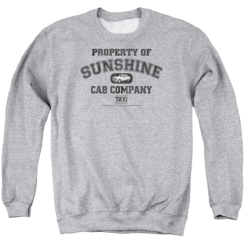 Image for Taxi Crewneck - Property of Sunshine Cab