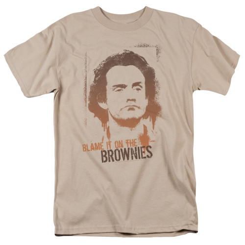 Image for Taxi T-Shirt - Blame in on the Brownies