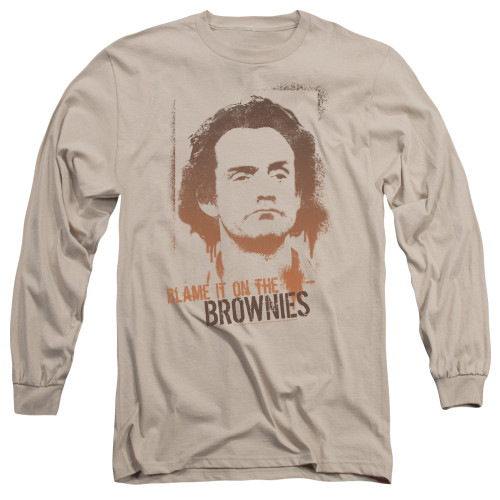 Image for Taxi Long Sleeve T-Shirt - Blame in on the Brownies