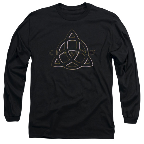 Image for Charmed Long Sleeve T-Shirt - Triple Linked Logo
