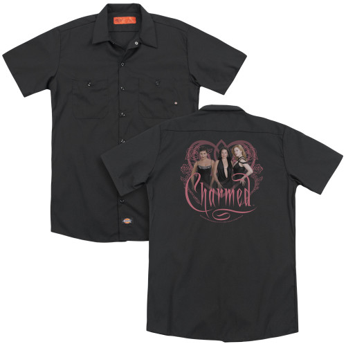 Image for Charmed Dickies Work Shirt - Charmed Girls