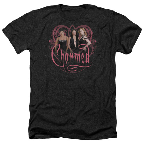 Image for Charmed Heather T-Shirt - Charmed Girls