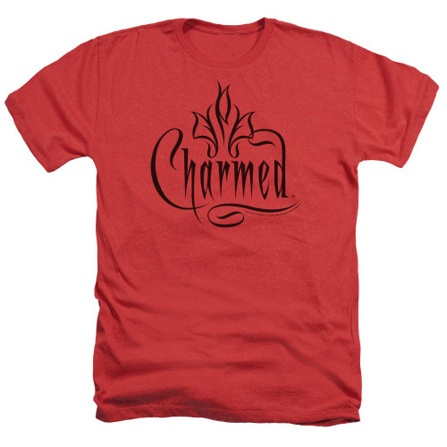 Image for Charmed Heather T-Shirt - Logo