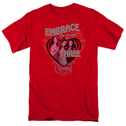 Image for Charmed T-Shirt - Embrace the Power
