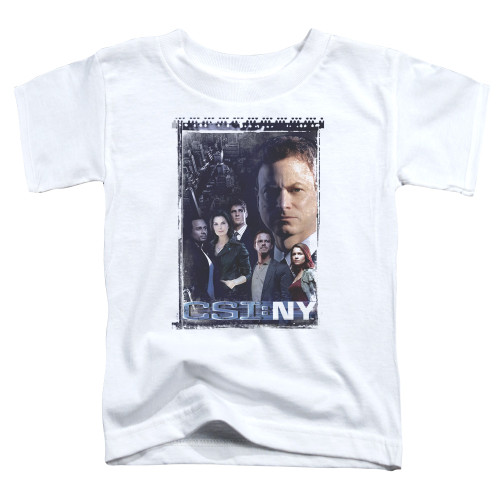 Image for CSI NY Toddler T-Shirt - Watchful Eye