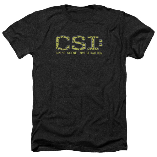 Image for CSI Heather T-Shirt - Collage Logo