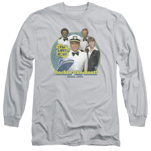 Image for The Love Boat Long Sleeve T-Shirt - Rockin' the Boat