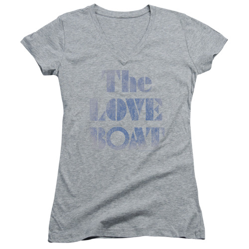 Image for The Love Boat Girls V Neck T-Shirt - Distressed