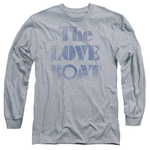 Image for The Love Boat Long Sleeve T-Shirt - Distressed