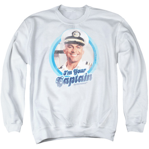 Image for The Love Boat Crewneck - I'm Your Captain