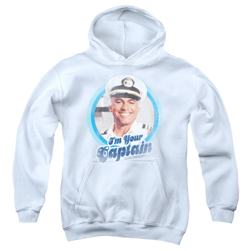 Image for The Love Boat Youth Hoodie - I'm Your Captain