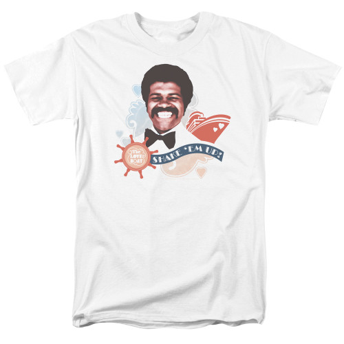 Image for The Love Boat T-Shirt - Shake 'Em Up