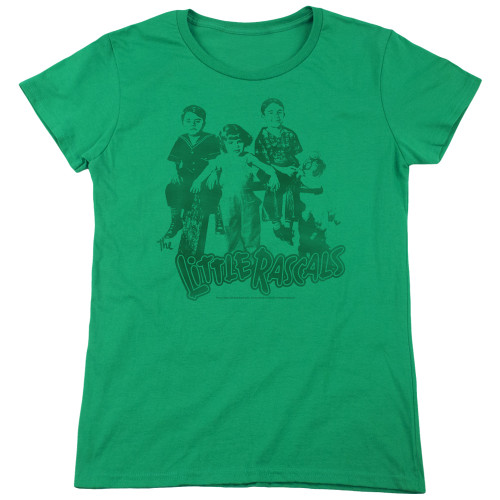 Image for The Little Rascals Woman's T-Shirt - The Gang