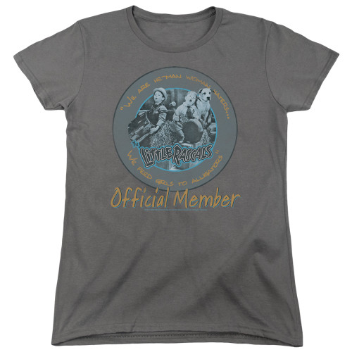 Image for The Little Rascals Woman's T-Shirt - He-Man Woman Haters Club