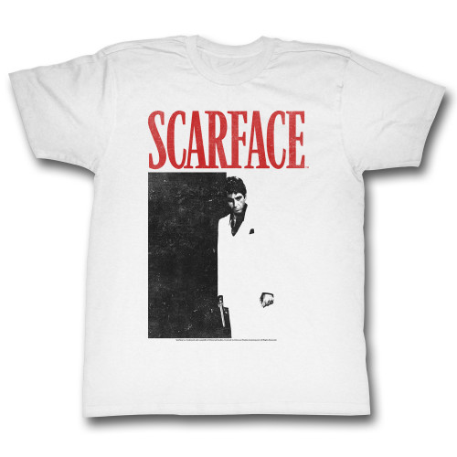 Image for Scarface T-Shirt - Black and Red