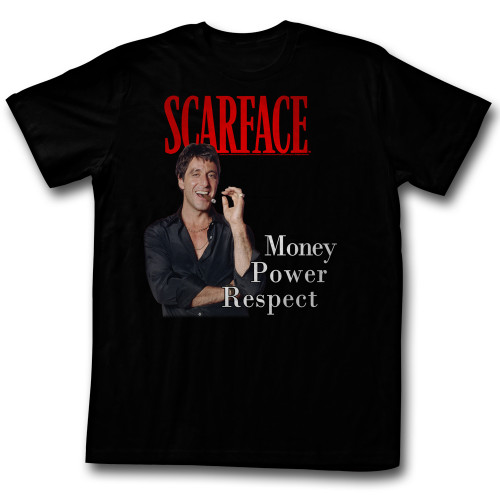Image for Scarface T-Shirt - Money Power Respect
