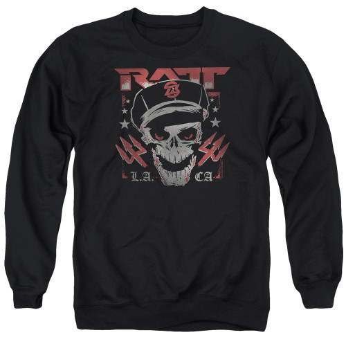 Image for Ratt Crewneck - Skull and Tridents