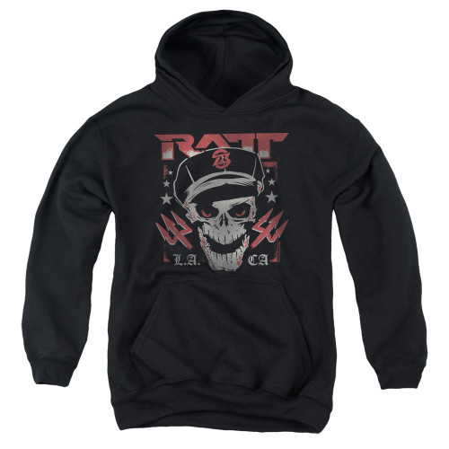 Image for Ratt Youth Hoodie - Skull and Tridents