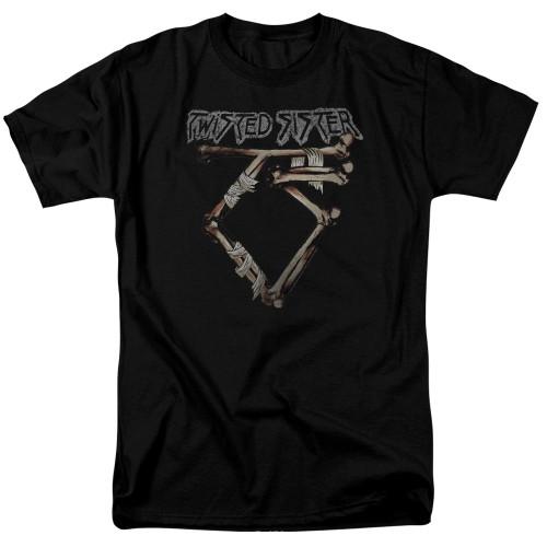 Image for Twisted Sister T-Shirt - Bone Logo