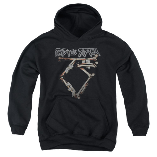 Image for Twisted Sister Youth Hoodie - Bone Logo