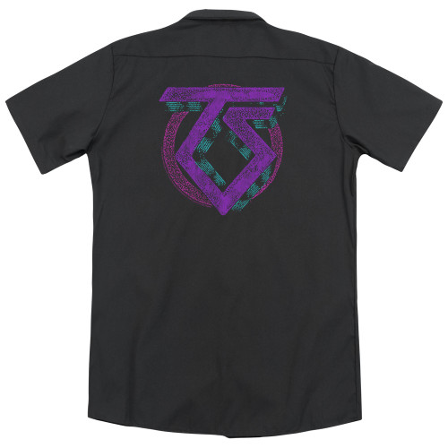 Back image for Twisted Sister Dickies Work Shirt - Symbol