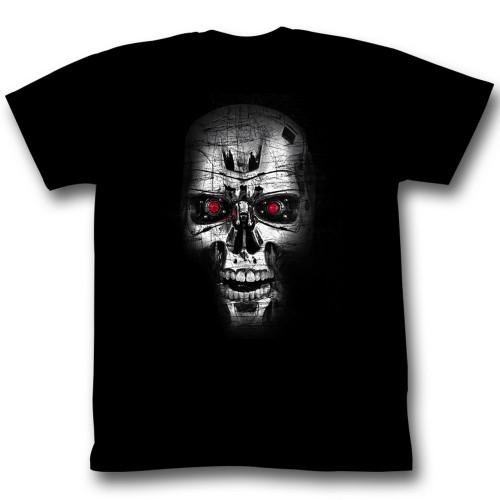 Image for Terminator T-Shirt - Steel Skull