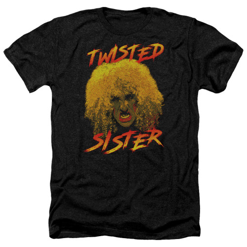 Image for Twisted Sister Heather T-Shirt - Twisted Scream