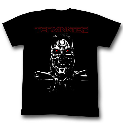Image for Terminator T-Shirt - Bare Metal Bones