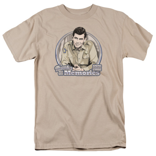Image for Andy Griffith Show T-Shirt - Thanks for the Memories