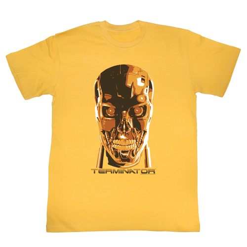 Image for Terminator T-Shirt - Creepy Face