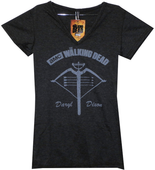 Image for The Walking Dead Girls T-Shirt - Crossbow