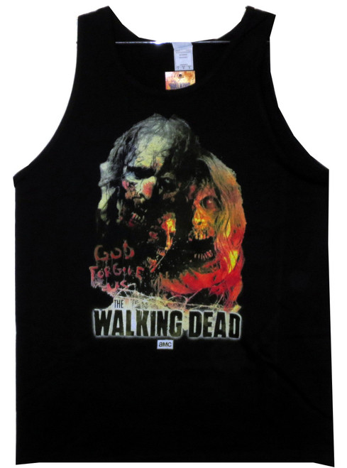 Image for The Walking Dead Tank Top - Illustrated Zombies