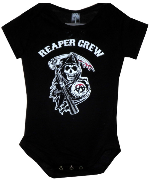 Image for Sons of Anarchy Baby Creeper - Reaper Crew
