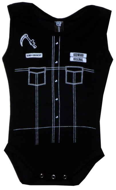 Image for Sons of Anarchy Baby Sleeveless Creeper - Chop