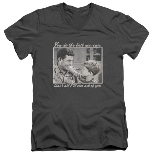 Image for Andy Griffith Show T-Shirt - V Neck - Wise Words