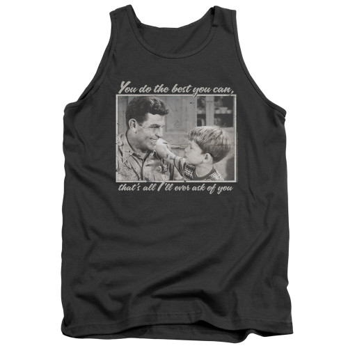Image for Andy Griffith Show Tank Top - Wise Words