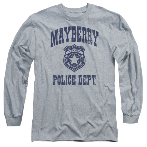 Image for Andy Griffith Show Long Sleeve T-Shirt - Mayberry Police