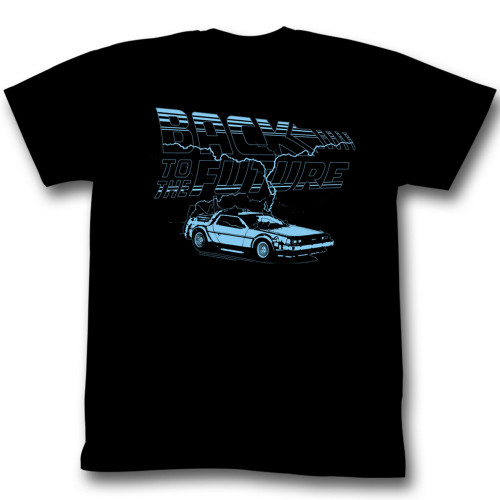 Image for Back to the Future T-Shirt - Ride the Lightning