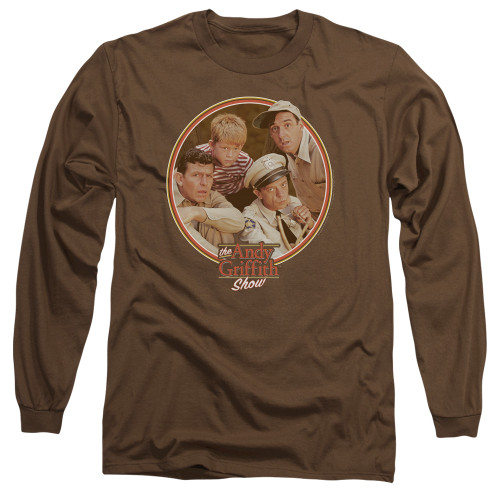 Image for Andy Griffith Show Long Sleeve T-Shirt - Boys Club