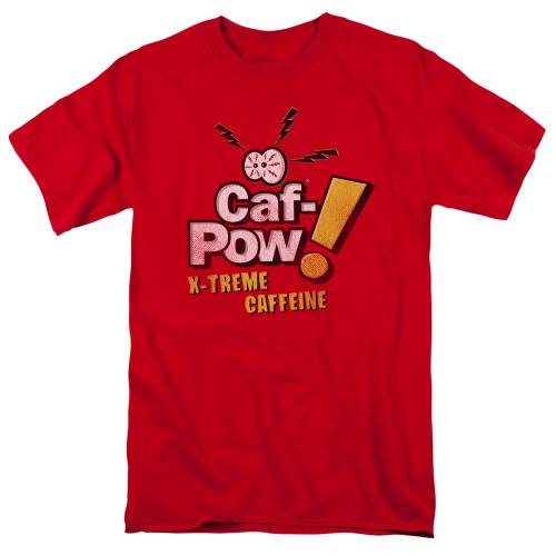 Image for NCIS T-Shirt - Caf-Pow Xtreme Caffiene Logo