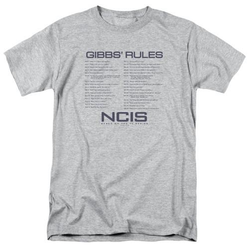 Image for NCIS T-Shirt - Gibbs Rules