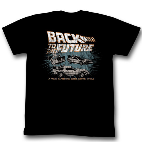 Image for Back to the Future T-Shirt - Time Machine with Style