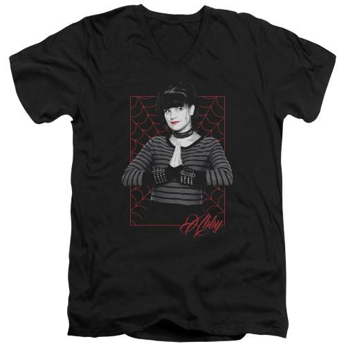 Image for NCIS T-Shirt - V Neck - Abby Webs