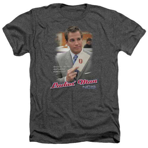 Image for NCIS Heather T-Shirt - Ladies Man