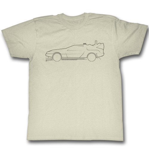 Image for Back to the Future T-Shirt - Car Lines