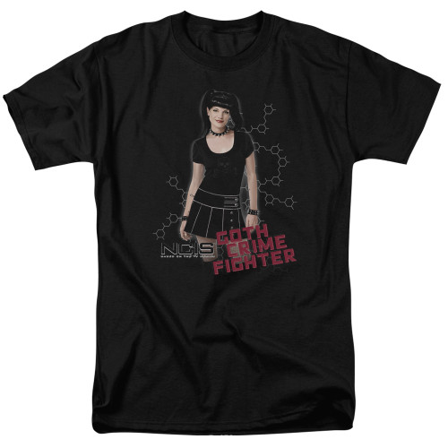 Image for NCIS T-Shirt - Gothic Crime Fighter