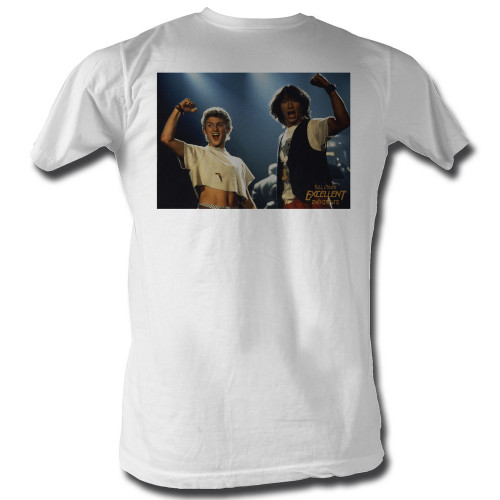 Image for Bill & Ted's Excellent Adventure T-Shirt - Rock On!