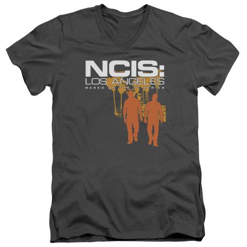 Image for NCIS T-Shirt - V Neck - Slow Walk