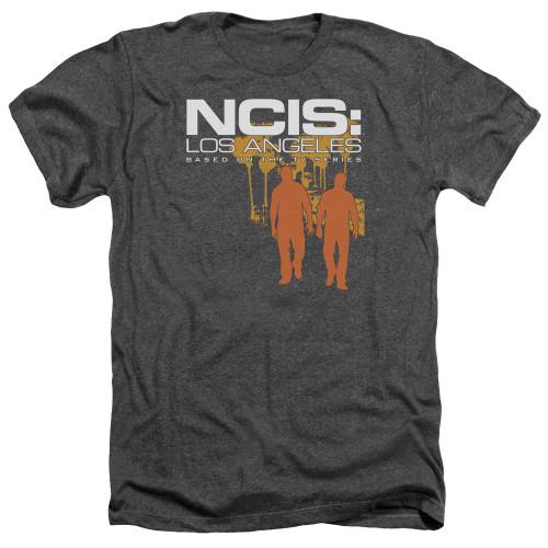 Image for NCIS Heather T-Shirt - Slow Walk