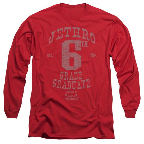 Image for The Beverly Hillbillies Long Sleeve T-Shirt - Mr. 6th Grade Grad